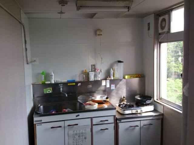 未改修キッチン