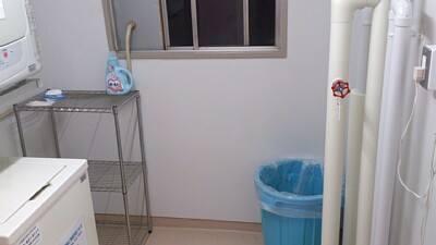 改修洗濯室